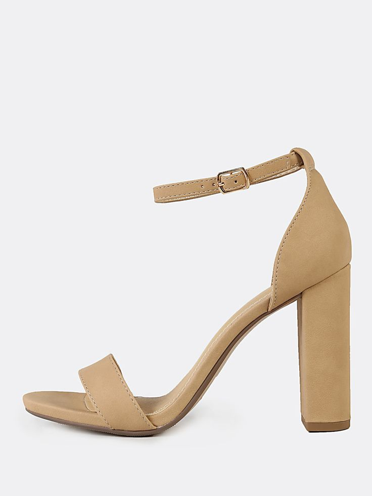 Shop Open Toe Dressy Sandal with Thin Ankle Cuff NUDE online. SheIn offers Open Toe Dressy Sandal with Thin Ankle Cuff NUDE & more to fit your fashionable needs.