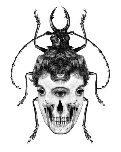 More freaky pics for Halloween... via Dan Hillier