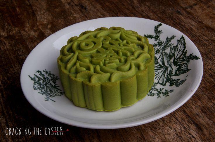 Green Tea Mooncake #MidAutumnFestival