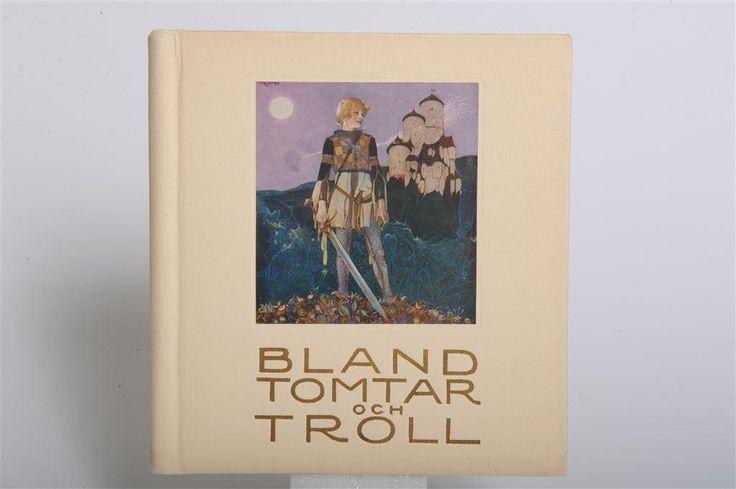 Bland Tomtar och Troll Nr 17 1924 Praktupplagan med omslag!! på Tradera