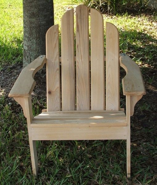 Cypress Adirondack Chair - Figueroa's Fine Custom Furniture