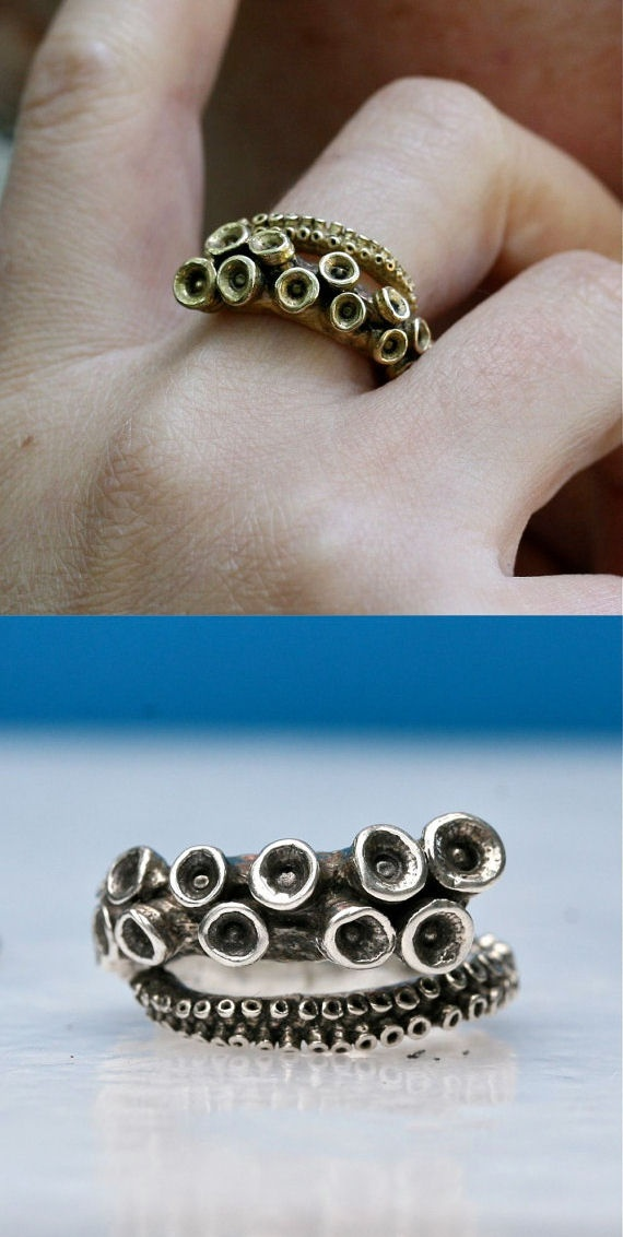 #Octopus #Tentacle #Ring ♥