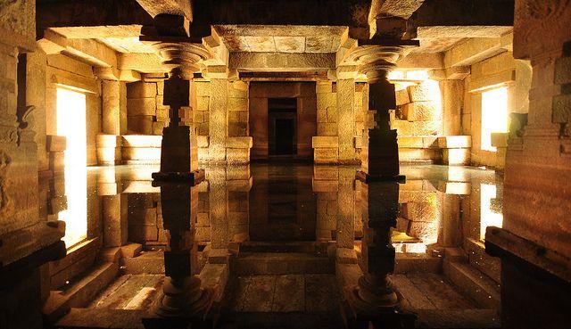 Underground shiva temple.