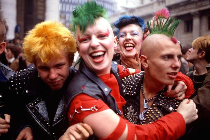 Quando essere punk non era solo una moda. 19 foto vintage