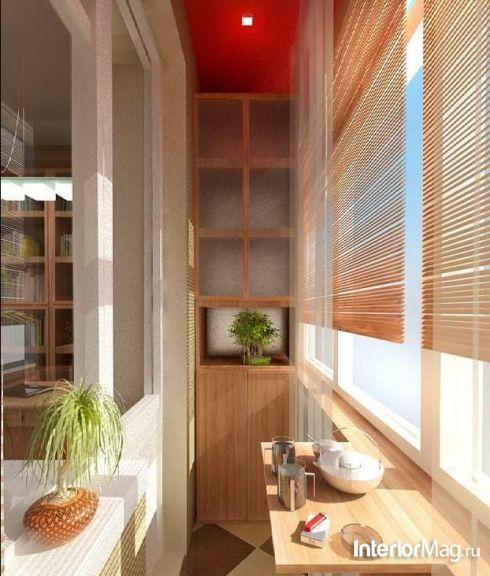 Дизайн маленького балкона - фото   ИнтерьерМаг.ру