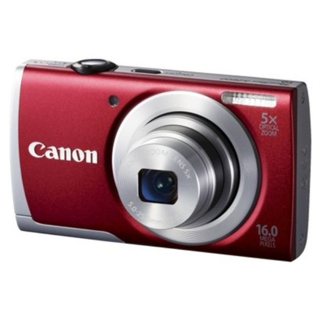 I'm learning all about Canon PowerShot A2600 16MP Digital Camera with 5x Optical Zoom - Red at @Influenster! @CanonUSA