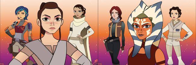 La franquicia de Star Wars siempre ha presumido de contar con grandes personajes femeninos. Heroínas que rompían todos los esquemas establecidos, fuertes e i...