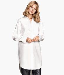 Camisa oversize de algodón