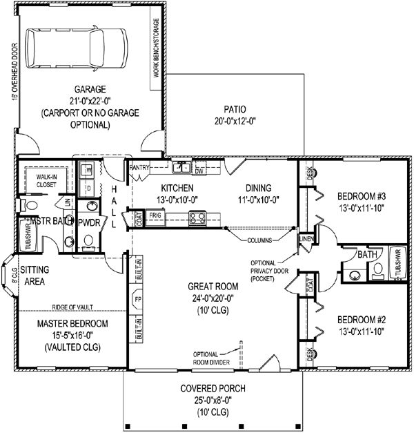 40 best House Plans images on Pinterest | Country house plans ...