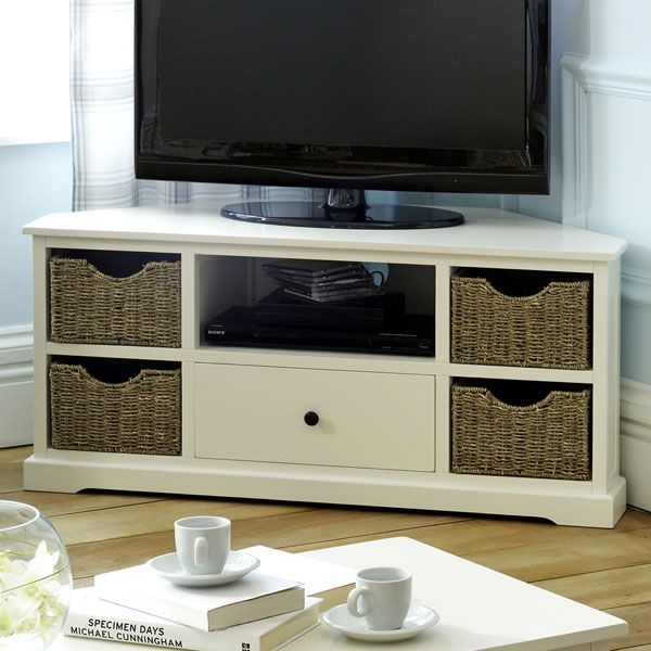 Cottage Corner TV Unit like the style but a little plastic looking for my liking and too
