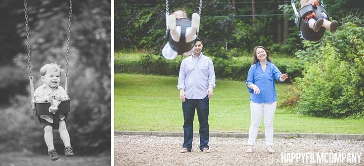 Family photos at the playground - the Happy Film Company - Seattle Family Photos