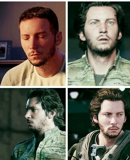 Troy Baker in COD Advanced Warfare. This makes me kind of uncomfortable...