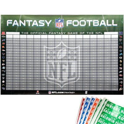 2013-2014 NFL Official Fantasy Football Draft Kit