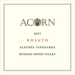 2011 Acorn Rosato Alegria Vineyards