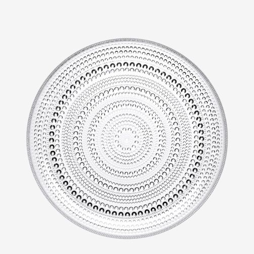 Kastehelmi dishes by Iittala. Design by Oiva Toikka.