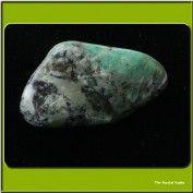 Emerald Aura Stone Pair