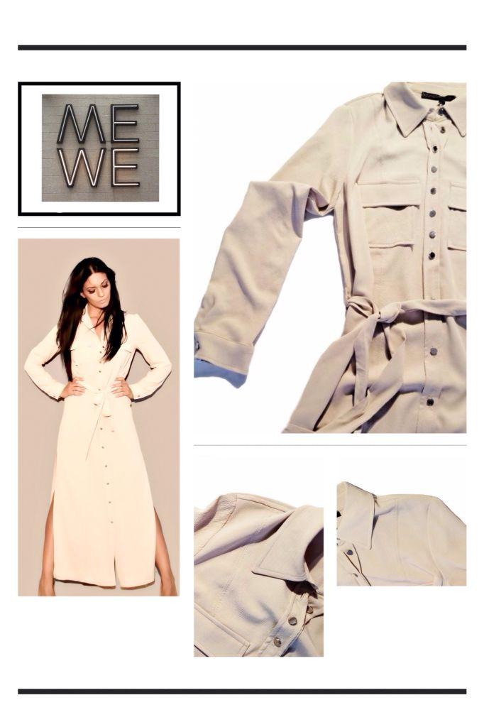 Style Dress in beige color , online fashion women boutique.