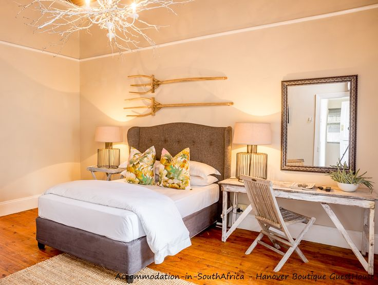 Unwind at Hanover Boutique Guesthouse. Accommodation in Hanover.
