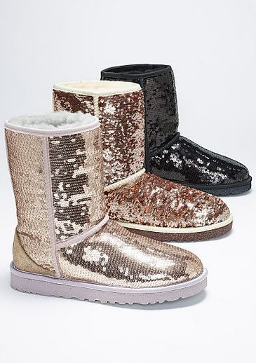 Sparkly UGG boots!! @My Paso for Natalie to wear to dance (so her ballet…