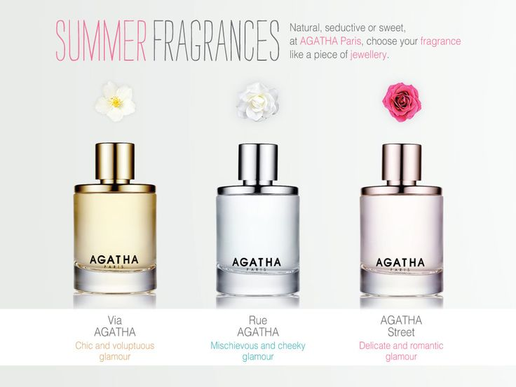 Indulge your senses with the NEW AGATHA Paris Perfume! Find your fragrance here > http://bit.ly/1sVKMYJ