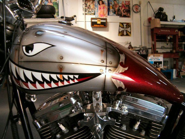 Custom Paint Motorcycles Flames Google Search Custom