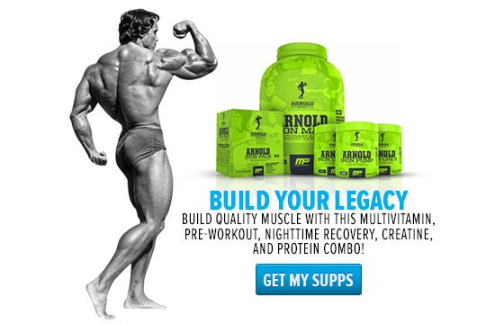 Bodybuilding.com - Arnold Schwarzenegger Blueprint Trainer Day 1