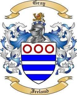 family crest gray | Gray Family Coat of Arms from Ireland