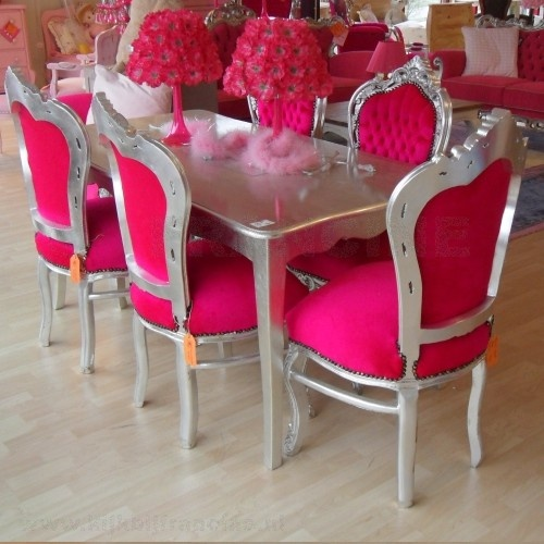 Best 25+ Pink Dining Rooms Ideas On Pinterest