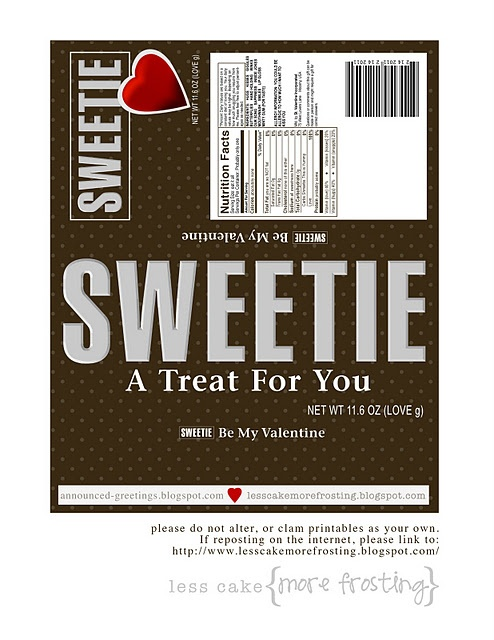 338 best Candy Bar Wrappers images on Pinterest
