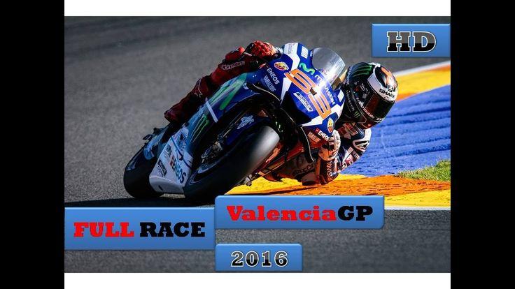 [FULL RACE] MotoGP VALENCIA Ricardo Tormo 2016 | #MotoGP #ValenciaGP