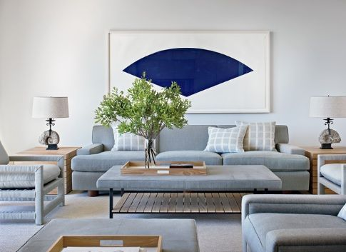 Home Decor Design: Calm And Simple Beach House Interior Design By Frederick  Stelle