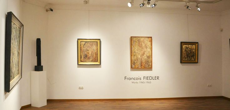 Exhibition of the works from 1945-1965 in the Kalman Maklary Fine Arts, 2013