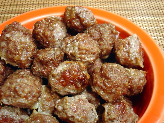 The very best, and easy meatballs ever!  These make a mean meatball sandwich, which is also included on Zaar under The Best Meatball Sandwiches.  Makes 5 batches of meatballs, so stick a couple in the freezer.  And these can of course used for anything, spaghetti, sweet and sour, etc.  From Quick Cooking.