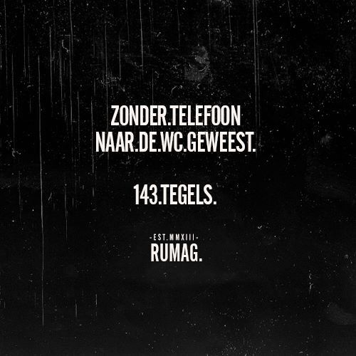 Zonder telefoon