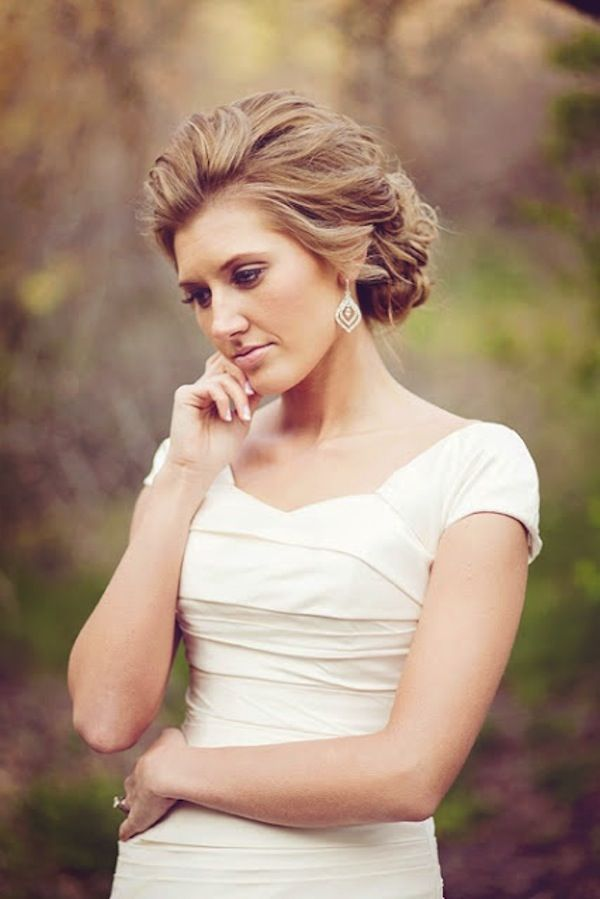 Breathtaking Updo's { Style Inspiration } gorgeous updo... Perfect for a wedding