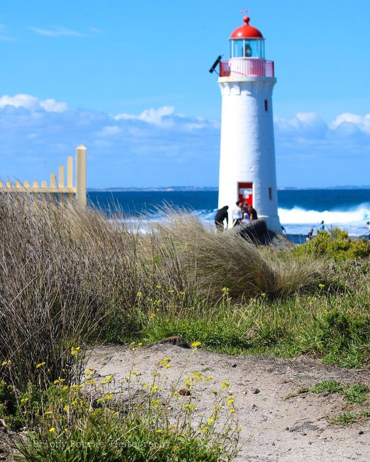 Lighthouse blues  #lighthouse #portfairy #victoria #australia #beach #walk…