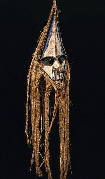 Oceanic Masks - Vanuatu mask from Pacific Islands