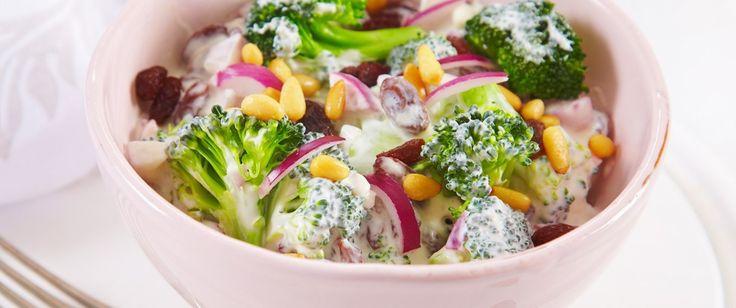 Kremet brokkolisalat | FRUKT.no
