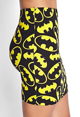 Batman Bodycon Skirt | FOREVER 21 - 2000061798
