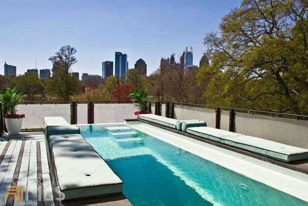 32 best above ground pools images on pinterest - Luxury above ground pools ...