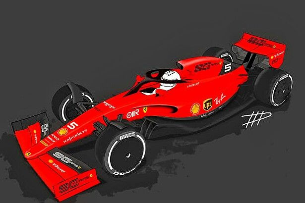 F1 2021 Ferrari Sf91 The Next Generation Of F1 Cars Is Already In The Works Designer Tim Holmes Has Taken The Proposed 202 Ferrari Sports Car Formula 1 Car