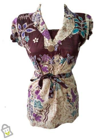 Simple Motif Batik Woman Clothes