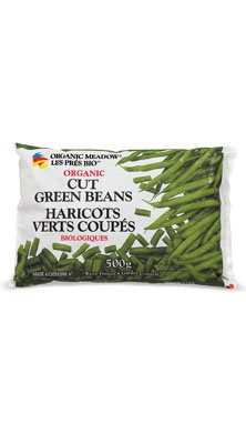 Organic Meadow - Our Products » Organic Frozen Vegetables » Organic Cut Green Beans