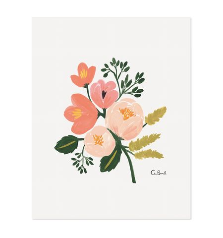 Rose Botanical Print by Rifle Paper Co. – Paper Luxe