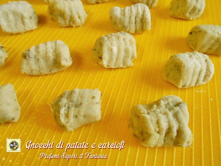 Gnocchi di patate e carciofi ricetta base  Blog Profumi Sapori & Fantasia