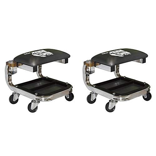 Torin Big Red Tr6340 Padded Rolling Creeper Garage Shop Seat Stool W Cup Holder 2 Pack Garage Shop Cool Car Accessories Ebay