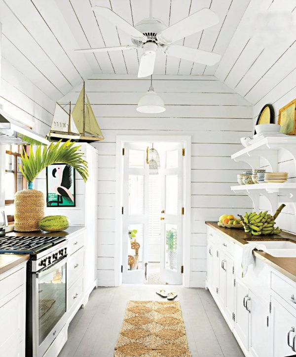 amazing Beach Cottage Kitchen Designs #3: 5 Places Youu0027re Forgetting to Clean - design district - http: · Small Beach  Cottage KitchenBeachy ...