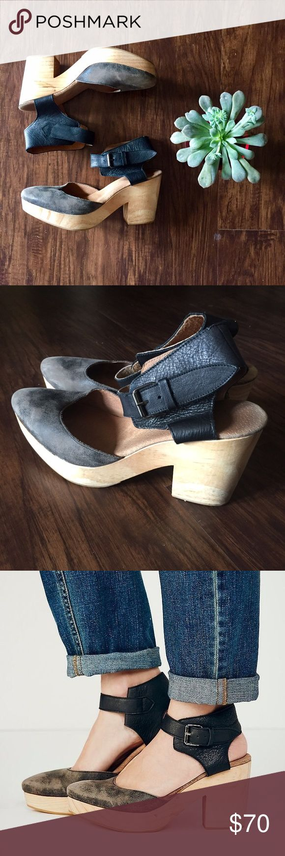Free People Percy Clog Heeled Clog from Free People. Only worn about 2 times. Very comfortable!! Free People Shoes Heels