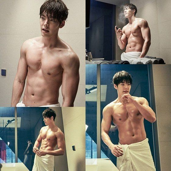 Kim Woo Bin and his perfect chocolate abs in new Uncontrollably Fond stills