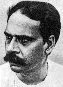 "Pramatha Chowdhury:(Bengali: প্রমথনাথ চৌধুরী) (7 August 1868 – 2 September 1946), alias Birbal, is an exceptionally illuminating persona in modern Bengali literature. It is astounding how he kept hold of his uniqueness in all-pervasive era of Rabindranath Tagore. As the editor of Sabuj Patra (""Green Leaves"",1914) and the mentor of the group that gathered around this journal, Chaudhuri left a lasting legacy to the literature of Bengal.(Wiki)"